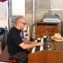 Henri and his magnificent organ